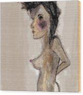 Nude 46 Wood Print