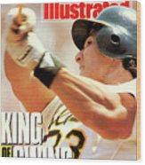 Oakland Athletics Jose Canseco Sports Illustrated Cover Wood Print