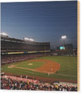 Oakland Athletics V Los Angeles Angels Wood Print