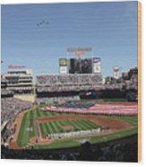 Oakland Athletics V Minnesota Twins Wood Print