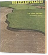 Oakmont Country Club Sports Illustrated Cover Wood Print
