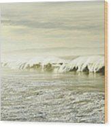 Ocean At Sunrise Wood Print