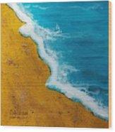 Ocean Drive Wood Print