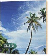 Ocean Drive, South Beach, Miami Wood Print
