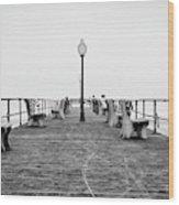 Ocean Grove Pier 1 Wood Print