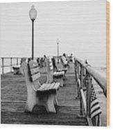 Ocean Grove Pier 2 Wood Print