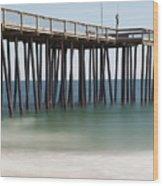 Ocean Pier Wood Print
