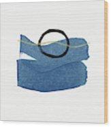 Ocean Zen 1- Art By Linda Woods Wood Print