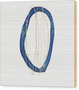 Ocean Zen 4- Art By Linda Woods Wood Print