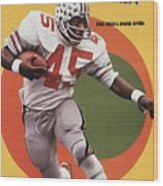 Ohio State Archie Griffin... Sports Illustrated Cover Wood Print