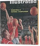 Ohio State Jerry Lucas... Sports Illustrated Cover Wood Print