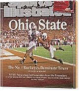 Ohio State Ted Ginn Jr... Sports Illustrated Cover Wood Print