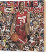Ohio State University David Lighty, 2011 March Madness Sports Illustrated Cover Wood Print