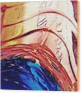Oil And Water 26 Wood Print