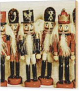 Old Nutcracker Brigade Wood Print