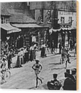 Olympic Marathon Wood Print