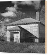 One Room Schoolhouse 2 Wood Print