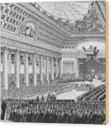 Opening Of The Estates General Wood Print