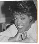 Oprah Winfrey, 1986 Wood Print