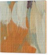 Orange #2 Wood Print