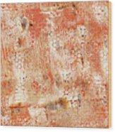 Orange Day Wood Print