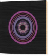 Orbital 5 Wood Print