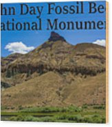 Oregon - John Day Fossil Beds National Monument Sheep Rock 2 Wood Print