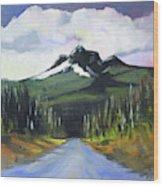 Oregon Road Trip Wood Print