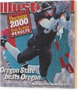 Oregon State University Chad Johnson Sports Illustrated Cover Wood Print