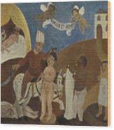 Oriental Tale  Wood Print