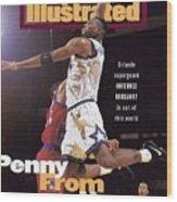 Orlando Magic Penny Hardaway Sports Illustrated Cover Wood Print