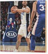 Orlando Magic V Philadelphia 76ers Wood Print