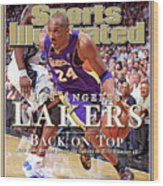 Orlando Magic Vs Los Angeles Lakers, 2009 Nba Finals Sports Illustrated Cover Wood Print