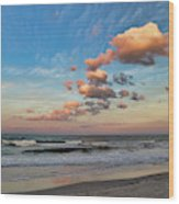 Ormond Beach Sunset Wood Print