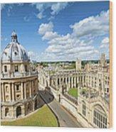 Oxford, Uk Wood Print