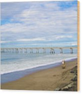 Pacifica Municipal Pier - California Wood Print