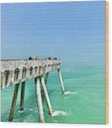Pacifica Pier 1 Wood Print