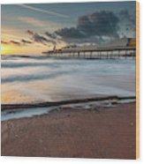 Paignton Pier Wood Print