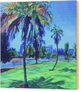 Palm Prints Wood Print