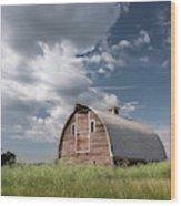 Palouse Barn 9652 Wood Print