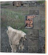 Palouse Barn 9916 Wood Print