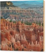 Panorama Bryce Canyon  Wood Print