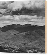 Panorama Melodrama Wood Print