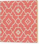 Pantone Pattern Wood Print