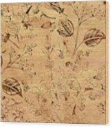 Paper Petal Patterns Wood Print