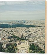 Paris, Je Taime Wood Print