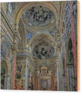 Parrocchia Santa Maria In Vallicella Wood Print