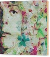 Paul Mccartney - Hello Goodbye - Portrait  Wood Print