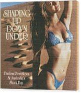 Paulina Porizkova Swimsuit 1985 Sports Illustrated Cover Wood Print