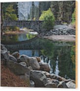 Peaceful Yosemite Wood Print